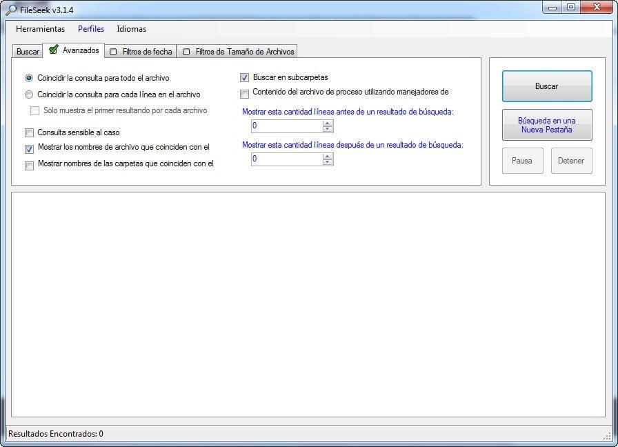 FileSeek - Avanzados